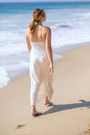 Yeaggy Ayla Sandwashed Slip Dress