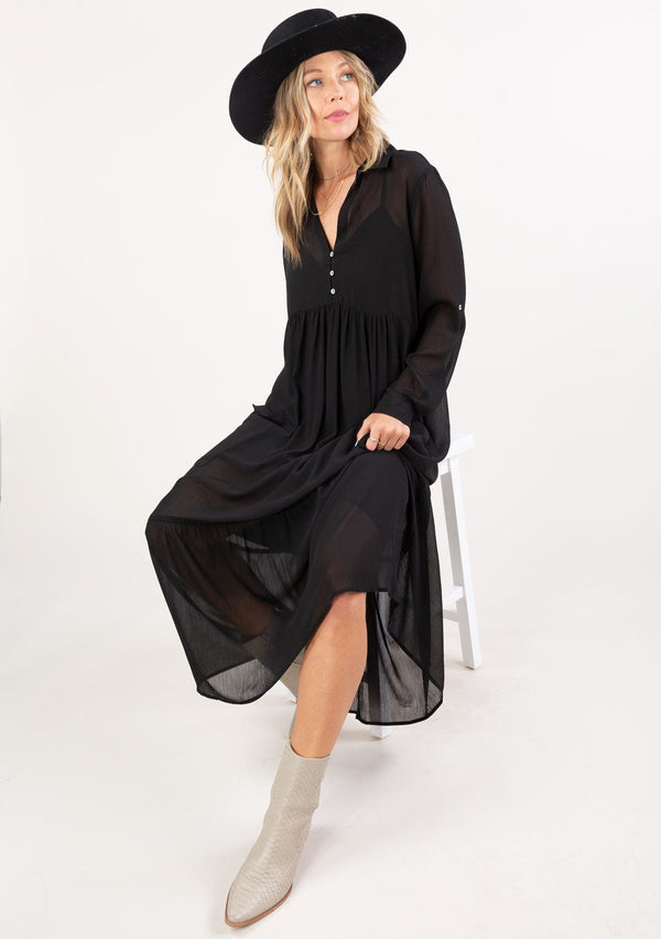 Lovestitch Chiffon Maxi Dress