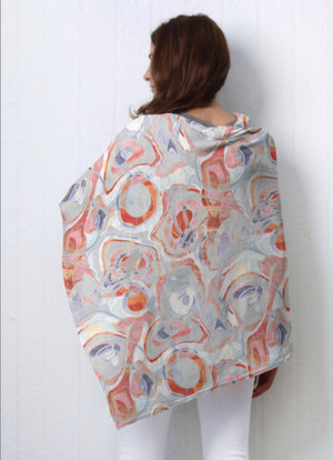 Whimsy Rose Poncho