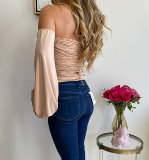 Savee Couture Long Sleeve Corset Top