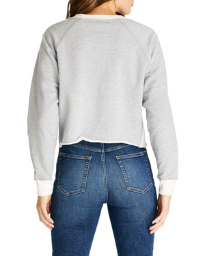 Etica Long Sleeve Sweatshirt Heather Grey