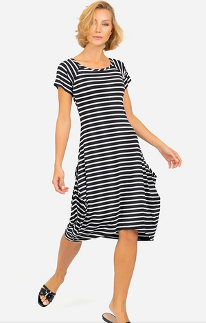 Joseph Ribkoff Short Sleeves Casual Dress