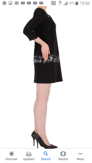 Joseph Ribkoff 3/4 Sleeves Tunic Dress
