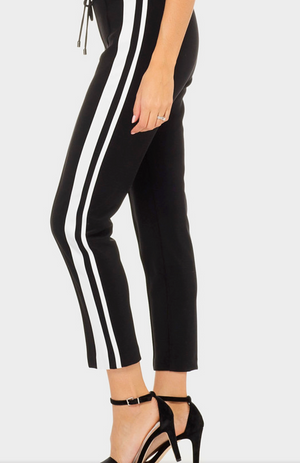 Joseph Ribkoff Strippes On The Side Adidas Style Pants