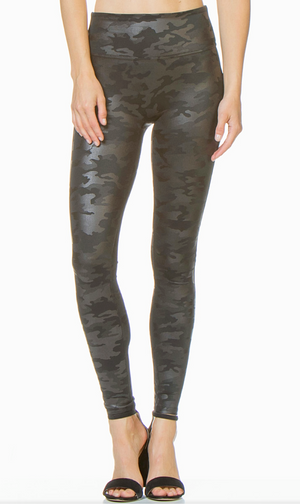 Spanx Leather Camouflage Legging