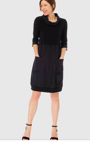 Joseph Ribkoff 3/4 Sleeves Round Neck Dress