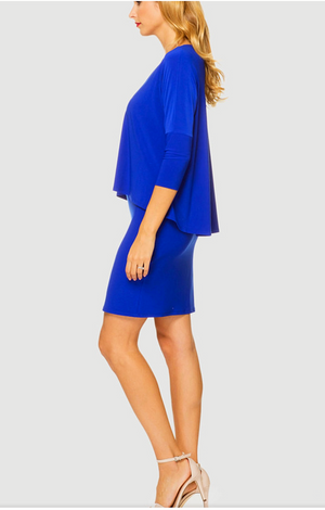 Joseph Ribkoff 3/4 Sleeves Short Dress