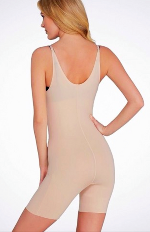 Spanx Open Bust Midthigh Body Suit
