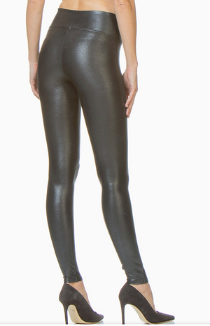 Spanx Faux Leather Pebbled Legging