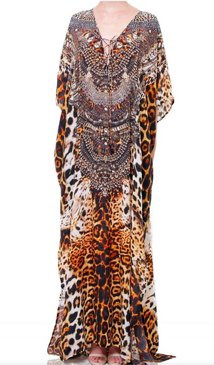Shahida Parides Long Kaftan Dress