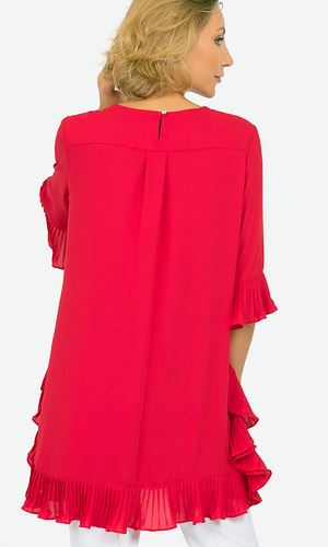Joseph Ribkoff 3/4 Sleeves Long Tunic