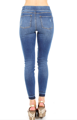 Spanx Distressed ASkinny Jeans