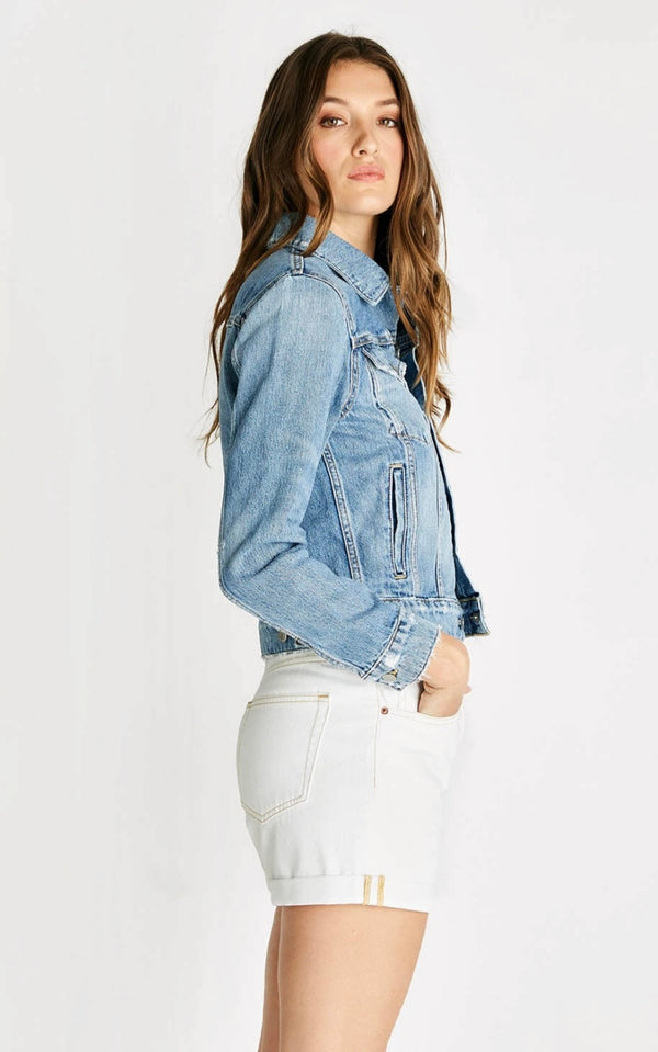 Etica Long Sleeves Hunter Denim Jacket