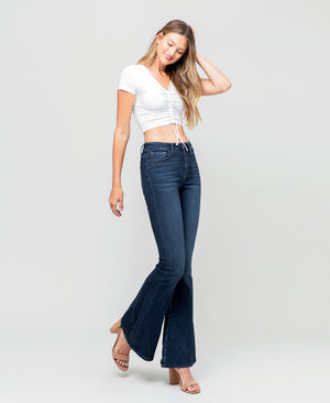 Vervet High Rise Super Flare Jeans