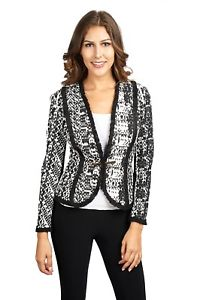 Joseph Ribkoff Black/White Jacket