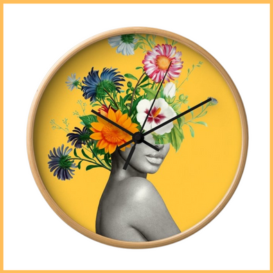 Bloomin' Lovely Wall Clock