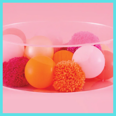 Cheetah Love Tropical Acrylic Tray