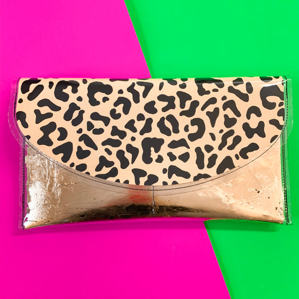 Love Me Leopard Clutch