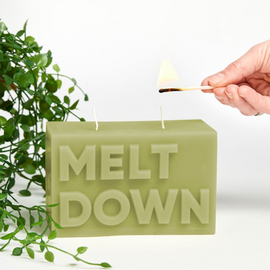 'Melt Down' Candle