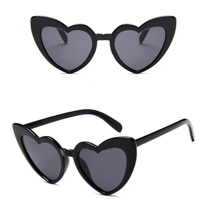 Heart My Heart Black Sunnies