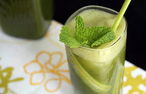 Matcha Cucumber Lemonade