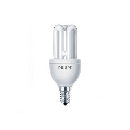 Bec economic Philips, E14, 8W, 10.000 ore, lumina calda