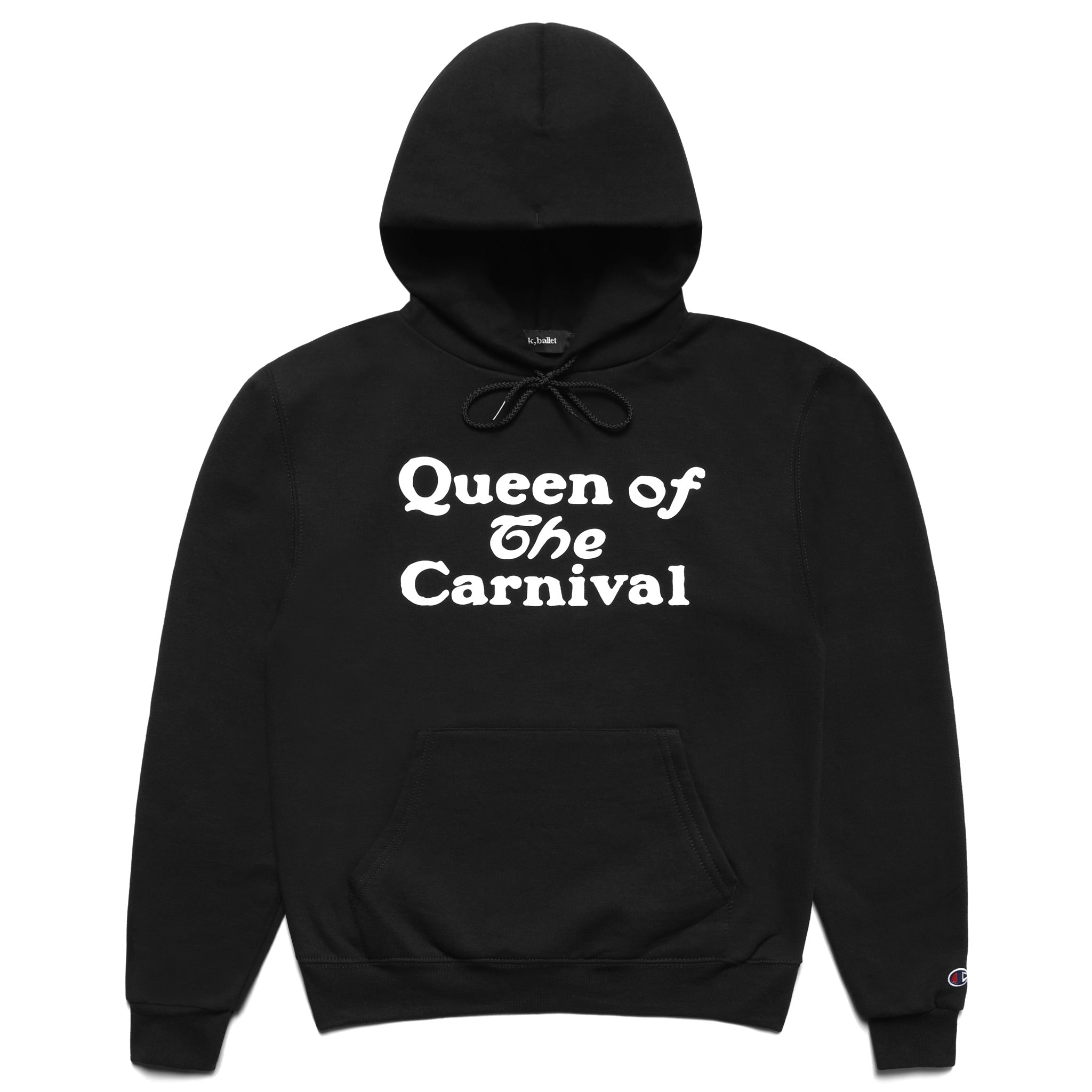 Queen of the Carnival Hooded Sweatshirt