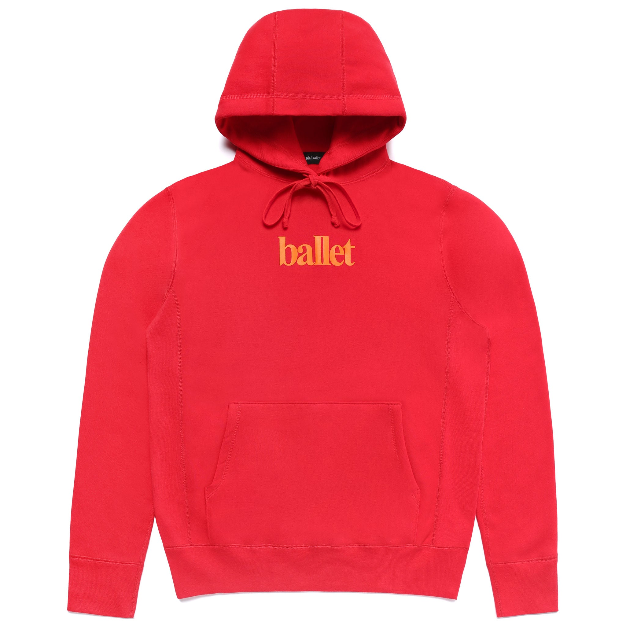 Red Logo Sweatshirt