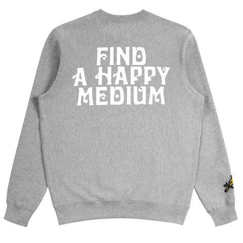 Happy Medium Crew Neck Sweatshirt