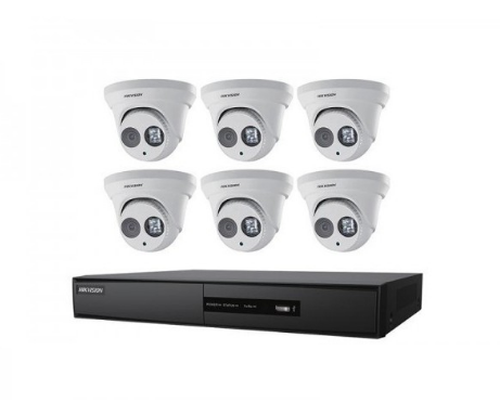 Hikvision Performance Series 8-Channel Turret Cameras Kit