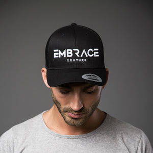Statement Trucker Cap - Black