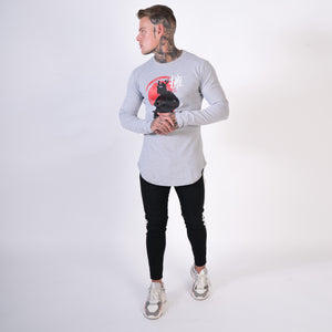 mens samurai long sleeve top