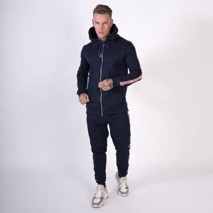 Signature Tape Tracksuit - Navy