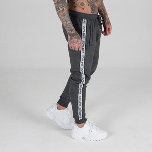 Signature Tape Joggers - Charcoal
