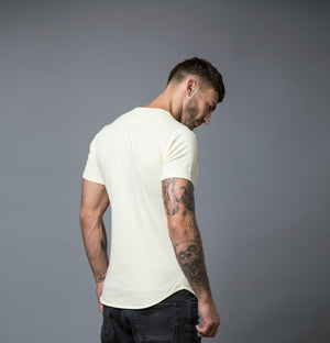 Longline T-Shirt Yellow