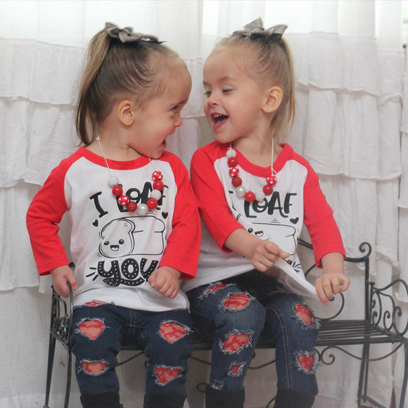 Adorable Kids Valentines Day Apparel