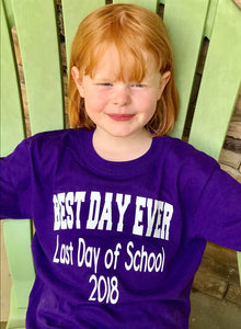 Best Day Ever Kids Graduation Tee