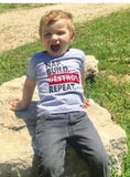 Nap Build Destroy Repeat Toddler Tee