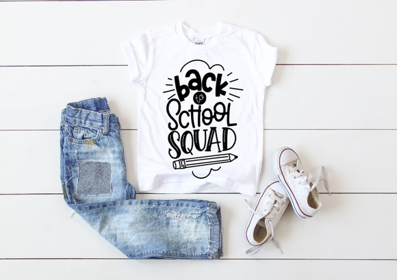Back to School Squad Sibling Tees