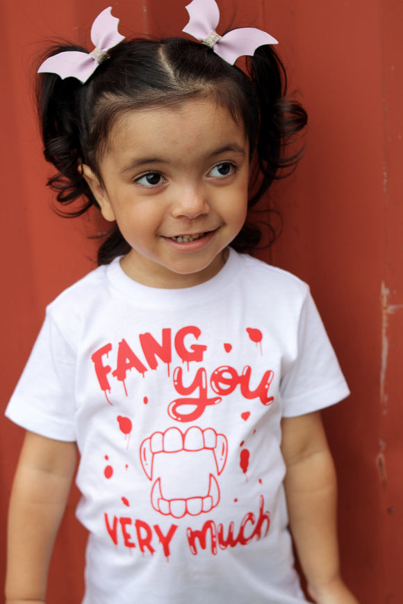 Fang You Very Much Halloween Tee
