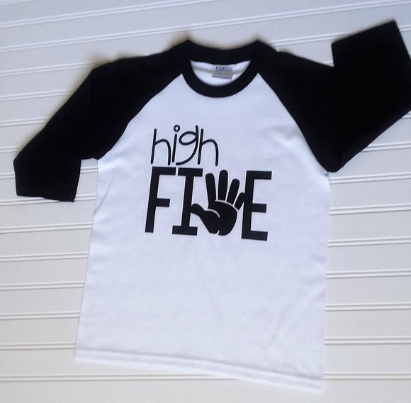 High Five Birthday Shirt