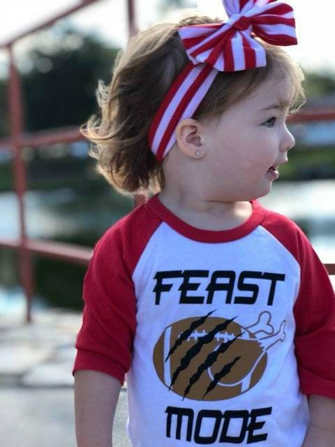 Feast Mode Thanksgiving Shirt for Kids
