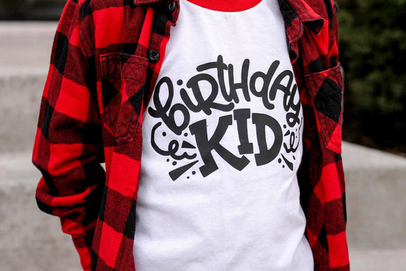 Birthday Kid Raglan