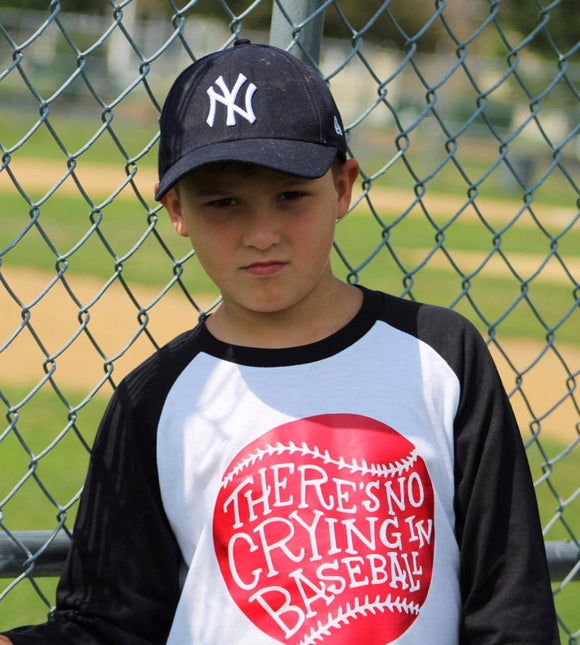 Kids Baseball Shirt