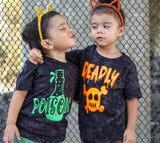 Poison Kids Halloween Vintage Tee