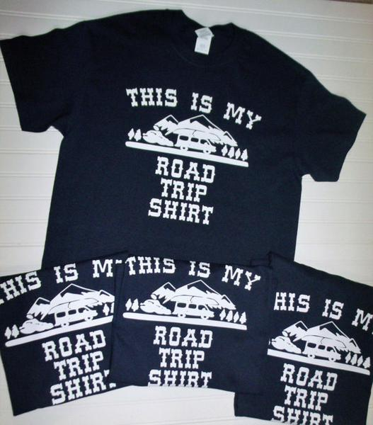 Road Trip Family Vacation Tees
