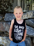 Sick Beats and Sunshine Youth Tank