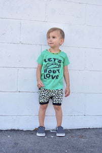 Lets Taco bout Love kids tees