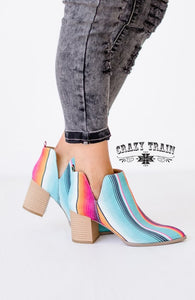 Crazy Train Serape Beauty Booties