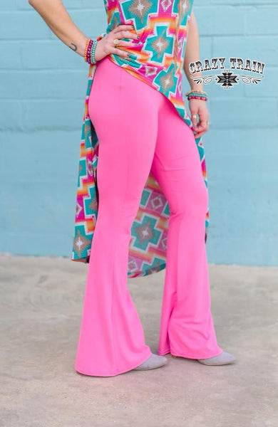 "Crazy Train ""Bell Air Flare"" Pants Several Colors To Choose From"